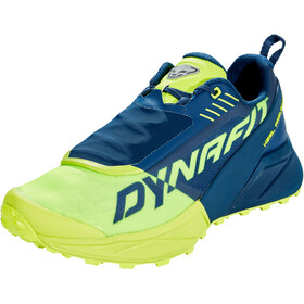 Dynafit Ultra 100 Chaussures Homme, poseidon/fluo yellow